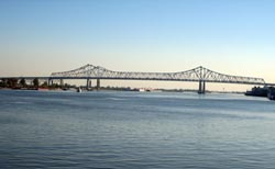 Crescent City Connection (Greater New Orleans Bridge)